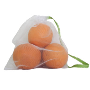 Fresh produce bag with oranges