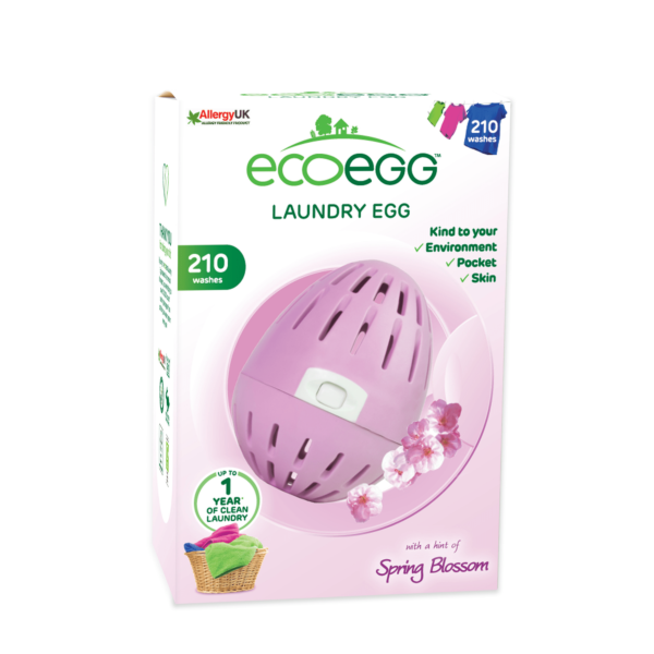 Laundry egg pink in box
