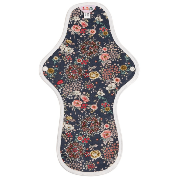 Floral patterned large cloth pad
