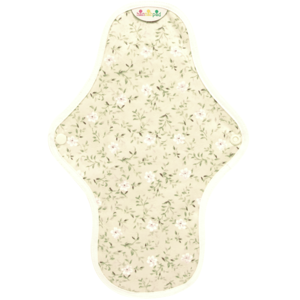 Floral medium cloth pad