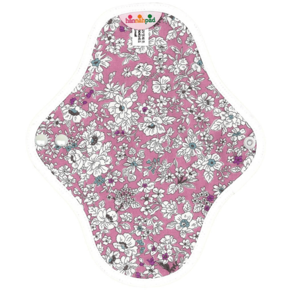 Floral patterned cloth pad